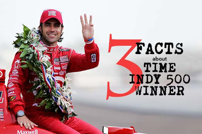 3 facts about 3 time indy 500 winner