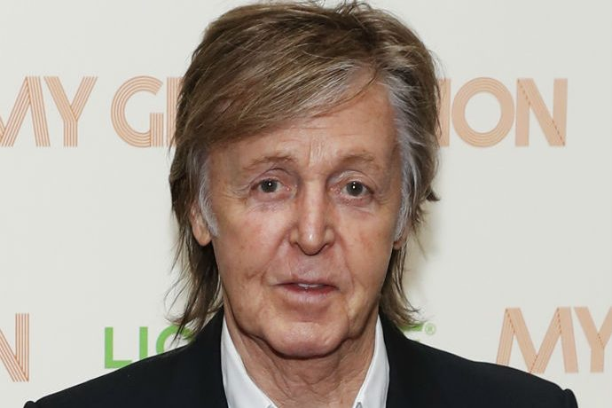"Paul McCartney sports his new ""horrible hair day"" look"