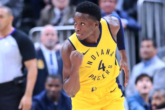 Pacers guard Victor Oladipo.