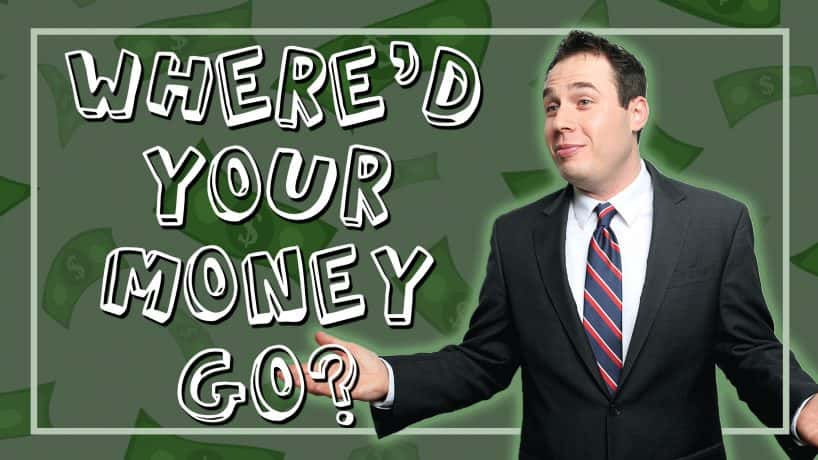 Rob Kendall: Where'd Your Money Go