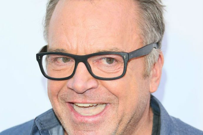 Celebrity Washout Tom Arnold arrives for premiere of his new film. Arnold sent a grotesque series of tweets to Diamond & Silk.