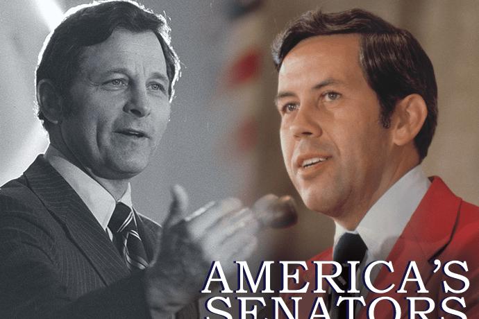 Birch Bayh and Dick Lugar/America's Senators graphic