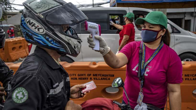 Philippine citizen gets screened for coronavirus