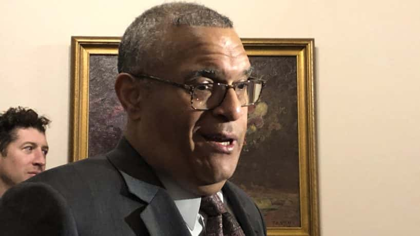 Democratic gubernatorial nominee Woody Myers