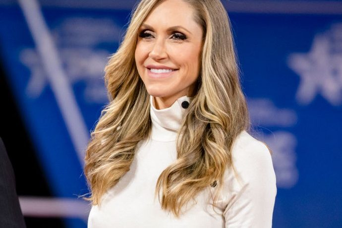 Lara Trump, Daughter-in-law of Donald Trump, delivers comments at CPAC 2019.