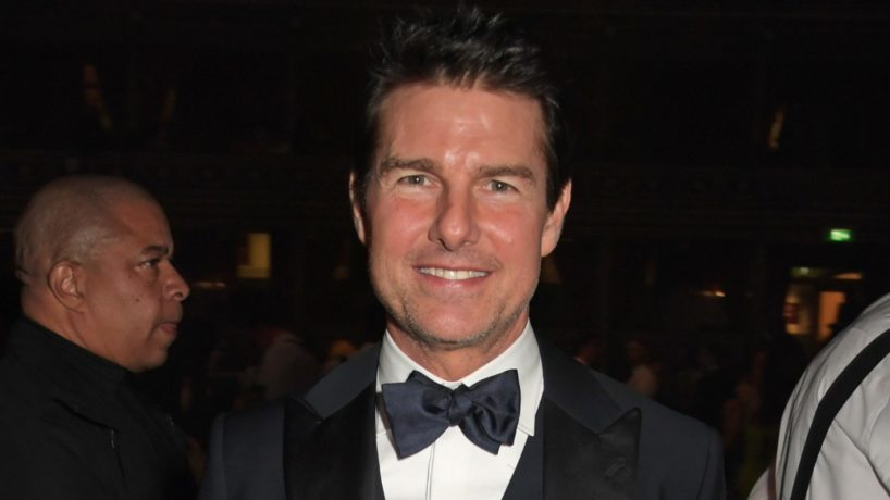 Tom Cruise attends the VIP dinner at The Fashion Awards 2019 held at Royal Albert Hall on December 2, 2019 in London, England.