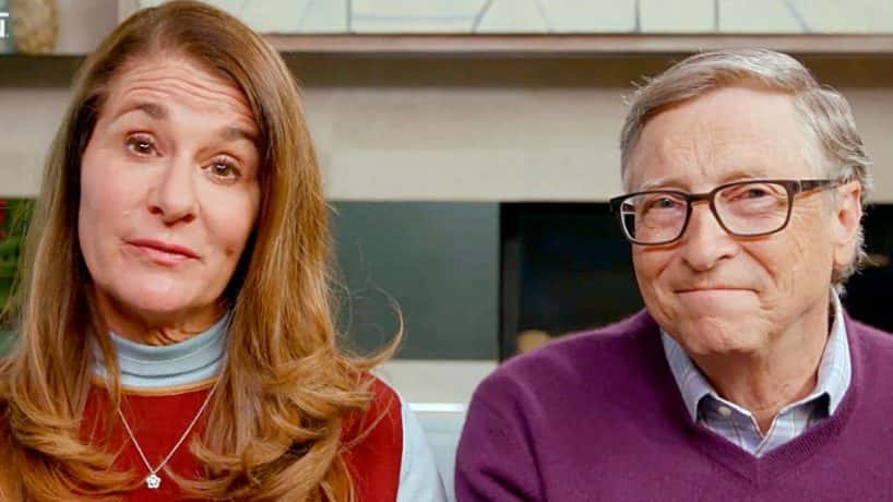 "APRIL 18: In this screengrab, (L-R) Melinda Gates and Bill Gates speak during ""One World: Together At Home"" presented by Global Citizen on April, 18, 2020. The global broadcast and digital special was held to support frontline healthcare workers and the COVID-19 Solidarity Response Fund for the World Health Organization, powered by the UN Foundation. (Photo by Getty Images/Getty Images for Global Citizen )"