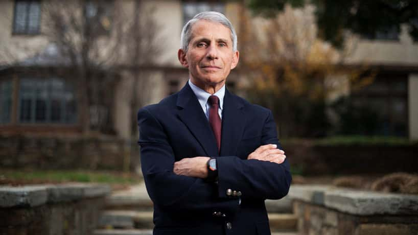 Dr. Anthony Fauci, Director of the National Institute of Allergy and Infectious Diseases, is photographed at the NIH, December 7, 2015. (Photo By Tom Williams/CQ Roll Call)