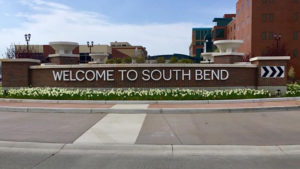 South Bend sign