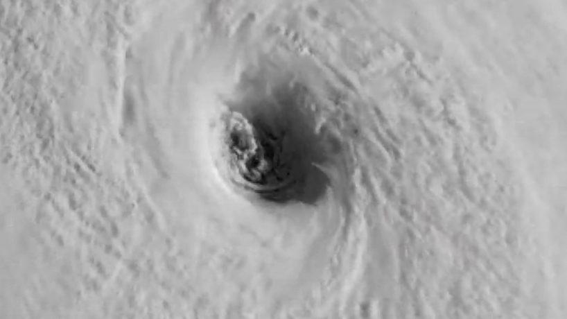 The eye of Hurricane Irma.