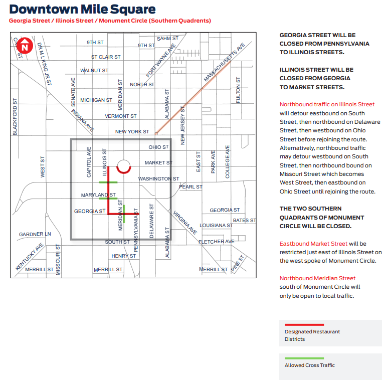 Downtown Closure