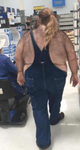 Fat Boy at Walmart