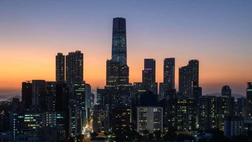 Hong Kong skylline