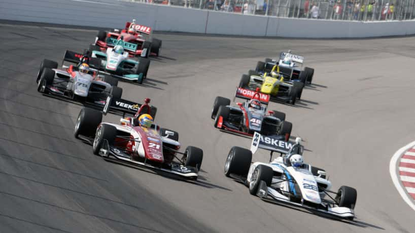 IndyLights cars