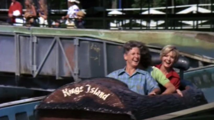 The Screen Capture of The Kings Island episode of the Brady Bunch.