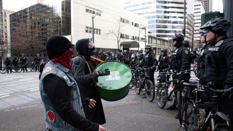 Antifa Militants Claim Free Capitol Hill In Seattle 93 1fm Wibc