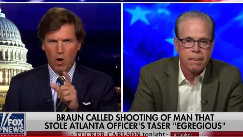 Fox News Host Tucker Carlson Destroys Senator Mike Braun.