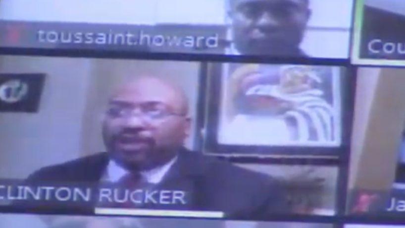 Screen Capture of Bond Hearing for Atlanta Officer who shot Rayshard Brooks.