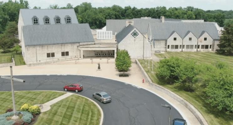 St. Elizabeth Seton Catholic Church is shown June 30, 2020 in Carmel, Ind.