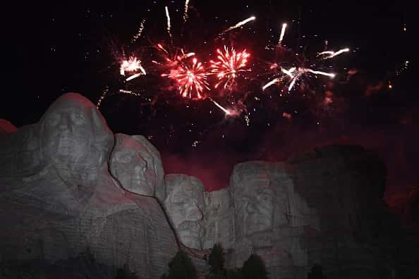 mt. rushmore 4th of july