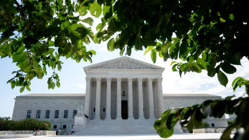 A general view of the U.S. Supreme Court on June 30, 2020 in Washington, DC.