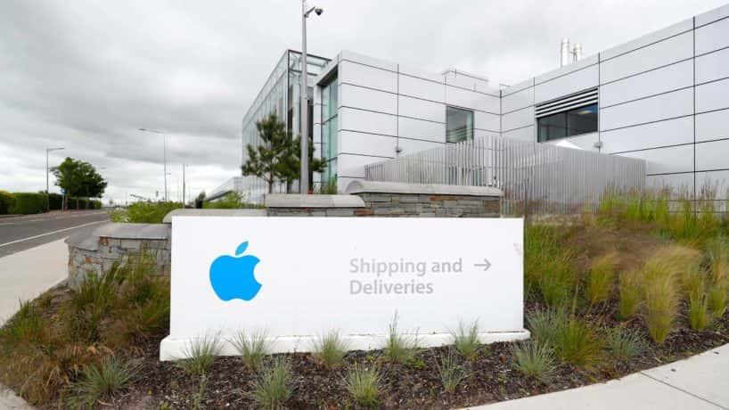 A general view of Apple European headquarters at Hollyhill industrial estate in Co Cork.
