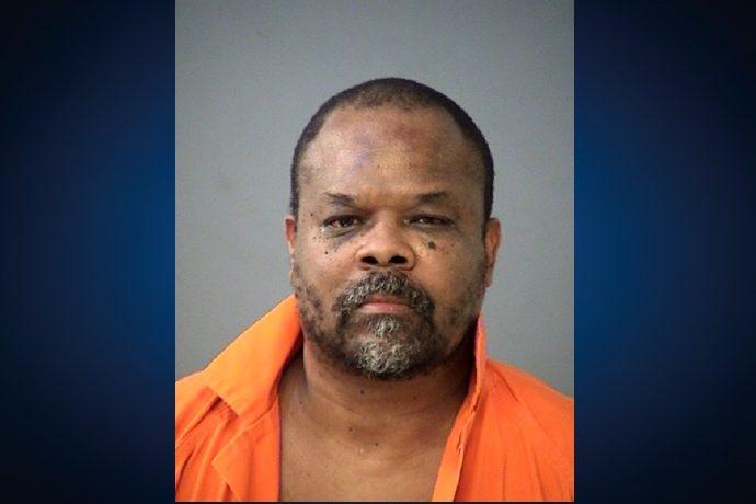 A mugshot of murder suspect Kevin Vinson.