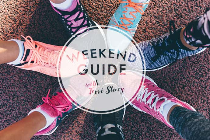 Tennis shoes, Weekend Guide with Terri Stacy