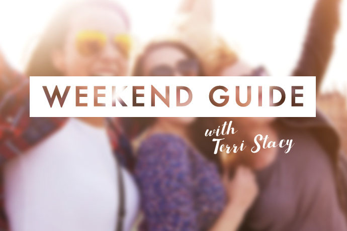 Three women, Weekend Guide with Terri Stacy