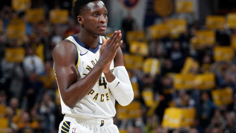 Victor Oladipo playing against Chicago Jan 29