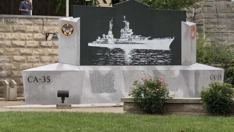 USS Indianapolis Memorial Monument