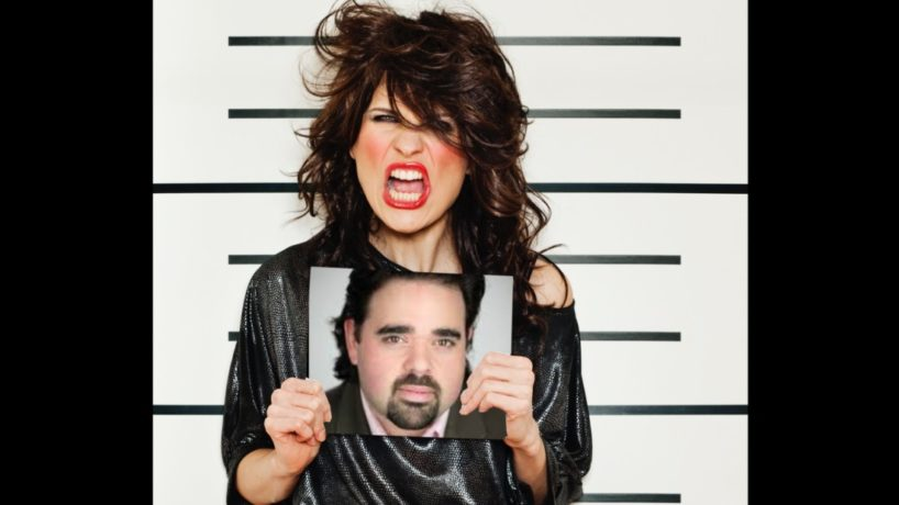 A prostitute stands in a police line-up with a photograph of her favorite WIBC radio host, Tony Katz.