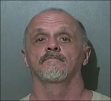 A mugshot of Timothy Biddy who was arrested Tuesday night