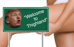"""Album Art for Hammer and Nigel Records """"Thighland"""""""