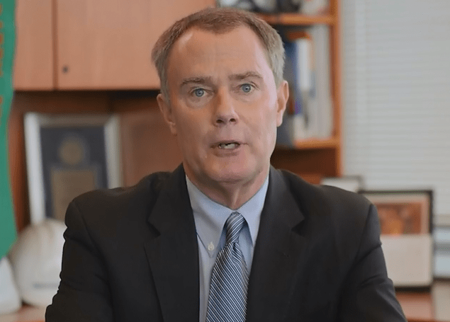 Mayor Joe Hogsett delivers the state of the city speech