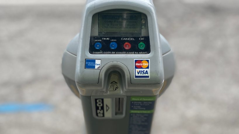 New Indianapolis parking meter.