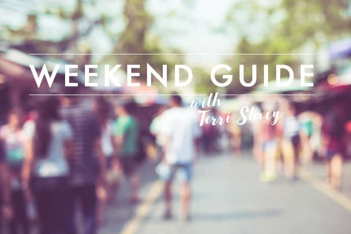 Busy street, Weekend Guide with Terri Stacy