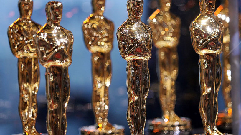"""Oscar Statues are displayed at the 2007 """"Meet the Oscars"""" presented by the Academy of Motion Pictures Arts and Sciences on February 12, 2007 in New York City. (Photo by Bryan Bedder/Getty Images)"""