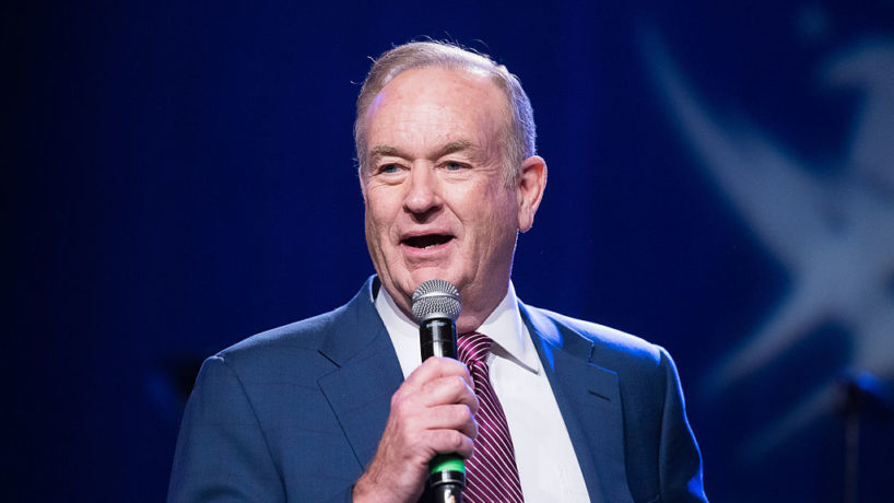 : Bill O'Reilly attends the Rock The Boat Fleet Week Kickoff Concert at Hard Rock Cafe, Times Square on May 21, 2015 in New York City. (Photo by Dave Kotinsky/Getty Images)
