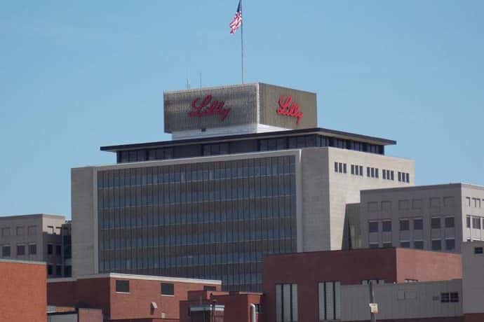 Eli Lilly headquarters in Indianapolis.