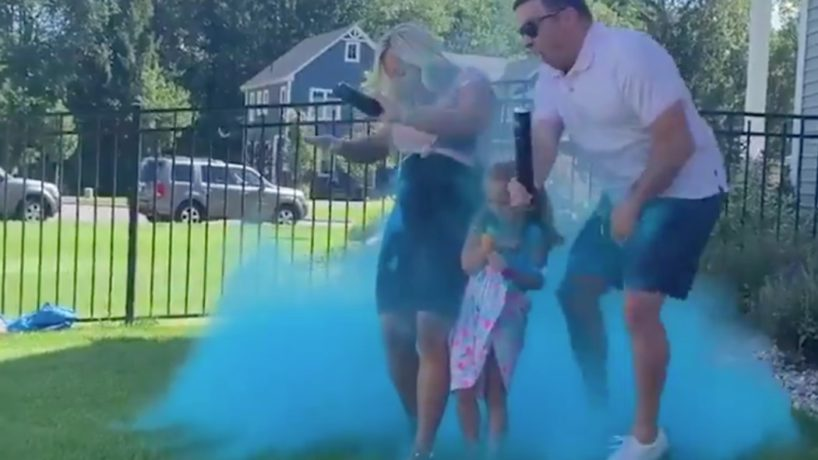 Gender Reveal Goes Wrong Leading to Testicular Obliteration.