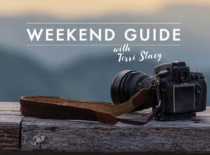 Camera on a ledge, Weekend Guide with Terri Stacy
