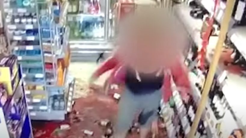 A Woman Smashes Dozens of Wine Bottles Over COVID Precautions.