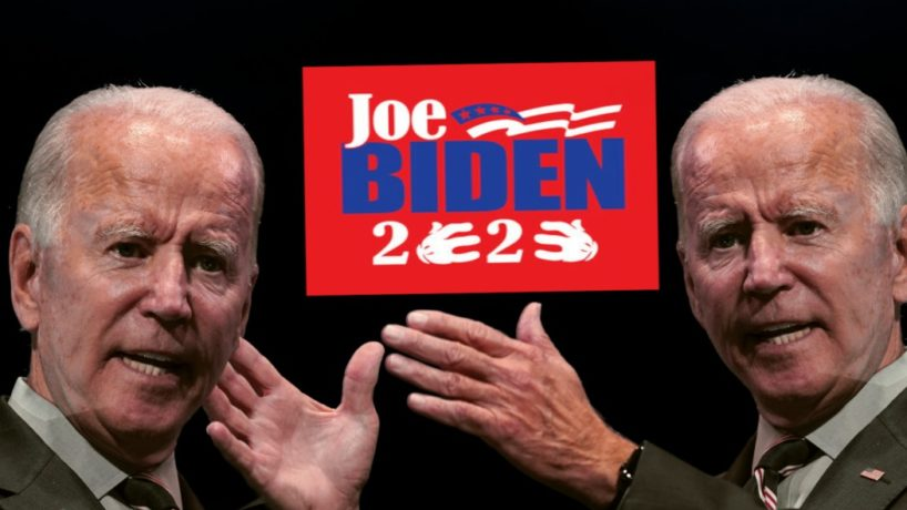 Vice President Joe Biden Attempts to Choke his Twin.
