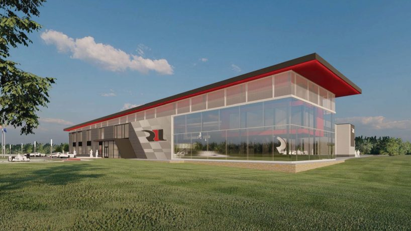 Rendering of new RLL HQ