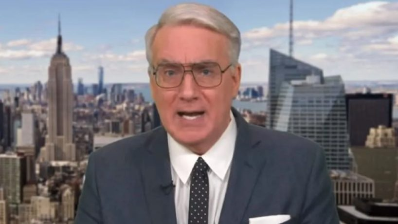 Podcaster Keith Olbermann delivers a political rant.