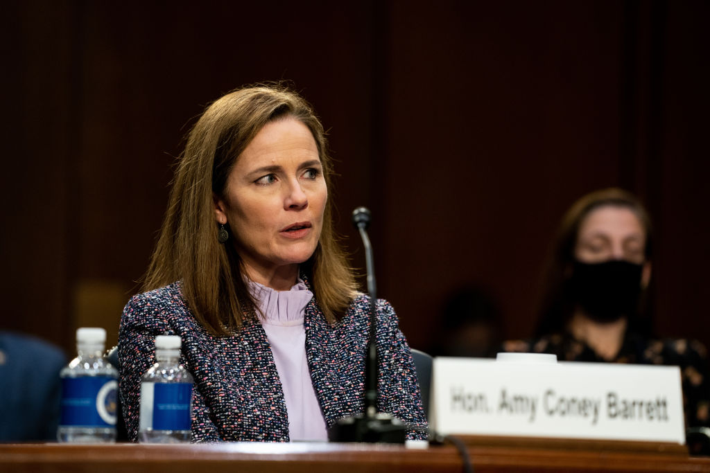 Barrett Stays Non-Committal To Specific Opinions In Day 3 Of Confirmation Hearings