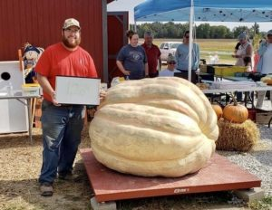 Mikkal Hodge - Giant Pumpkin