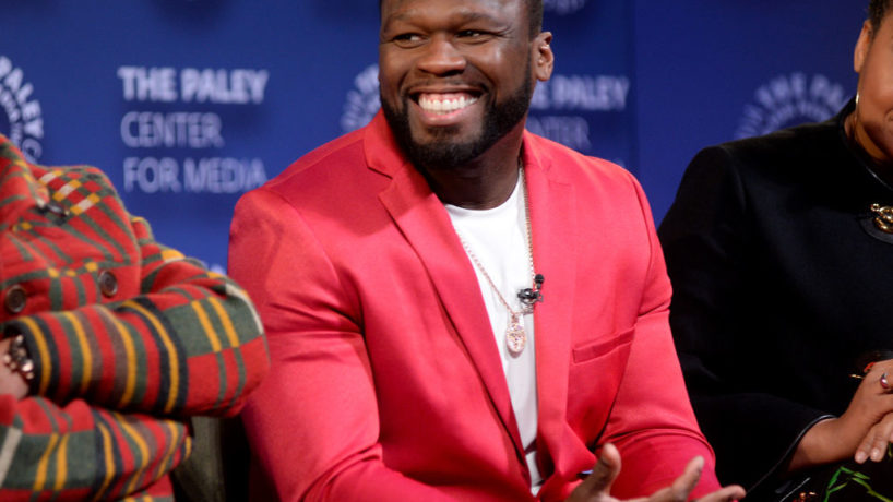 """Curtis """"50 Cent"""" Jackson speaks onstage during the Power Series Finale Episode Screening at Paley Center on February 07, 2020 in New York City. (Photo by Brad Barket/Getty Images for STARZ)"""