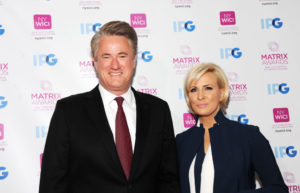 Joe Scarborough attends the 2018 Matrix Awards at Sheraton New York Times Square on April 23, 2018 in New York City. (Photo by Jimi Celeste/Patrick McMullan via Getty Images)